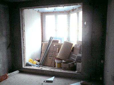 Слом оконного блока. демонтаж подоконной части. демонтаж сте.