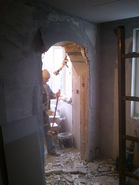 арка в стене