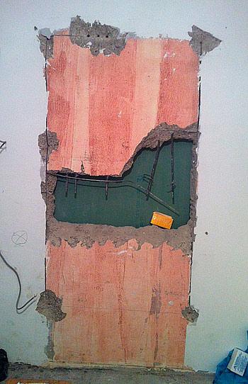перепланировка резка проема в бетоне своими руками